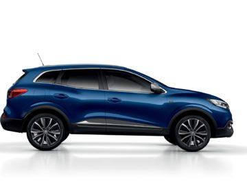 Kadjar série limitée Armor Lux : Renault en mode bleu marine et blanc