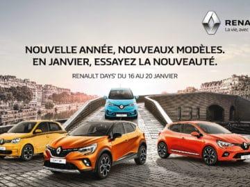 Renault Days Janvier 2020