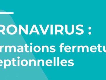 Nos mesures face au coronavirus