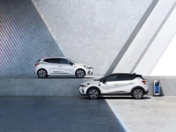 Nouvelle gamme hybride et hybride rechargeable Renault