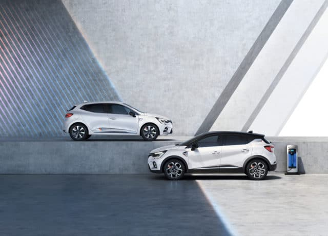 Nouvelle gamme Renault hybride et hybride rechargeable