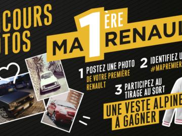 Participez au Concours Photos – Ma 1ère Renault !